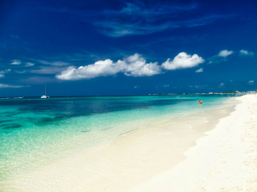seven miles beach auf grand cayman