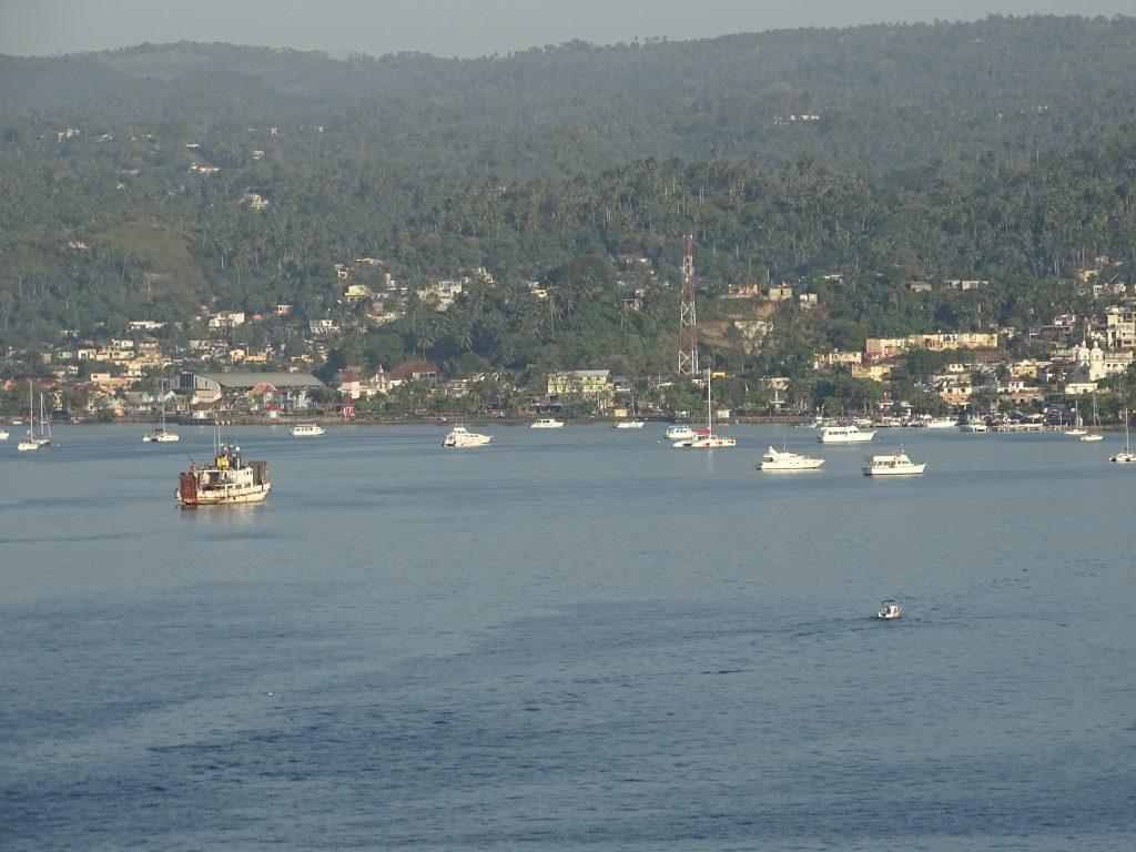 Der Hafen von Samana